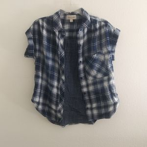 NWOT Anthropologie/ cloth & stone button shirt
